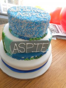 ASPIE 7 Years Old This Month