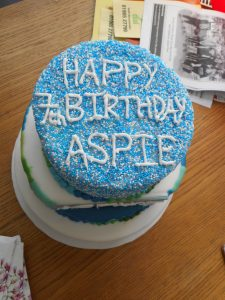 ASPIE 7 Years Old This Month ASPIES 7th Birthday Cake